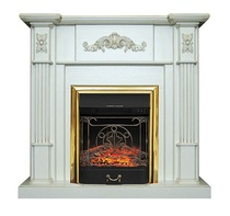 Портал Martin STD белый дуб, патина золото 1150х1075х360 (Royal Flame)