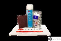 Набор ZeFire для ухода за биокамином и шлифованными поверхностями