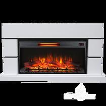 Каминокомплект Норд F36 белый 1350х750х350 (Inter Flame)