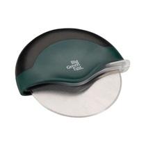 Нож для пицы Big Green Egg, полумесяц, зеленая ручка