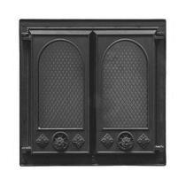 Дверка каминная Pisla НТТ-102 (с защитным экраном от искр), 500*500мм