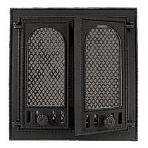 Дверка каминная Pisla НТТ-126 (с защитным экраном от искр), 365*410мм