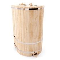 Фитобочка кедровая овальная, 130*75/100*2,5 см