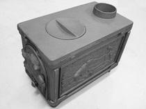Шашлычница ПМЧ-1 печь отопительная чугунная