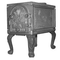Шашлычница ПМЧ-2 печь отопительная чугунная