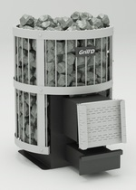 Grill D Leo 130 long, grey печь банная