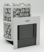 Grill D Leo 240 window, grey печь банная