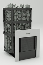 Grill D Leo 300 window, black печь банная