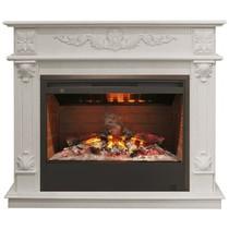 Обрамление PHILADELPHIA 3D 26 белый дуб (Real Flame)
