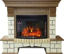 Портал Pierre Luxe D25 дуб 1150х1045х390 (Royal Flame)