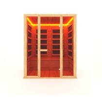 Инфракрасная сауна 3-х местная (кедр) с пленочными излучателями, 180*105*200 см
