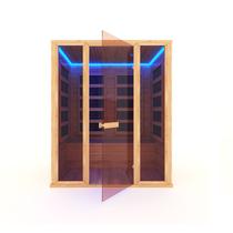 Инфракрасная сауна 4-х местная (кедр) с пленочными излучателями, 170*130*200 см