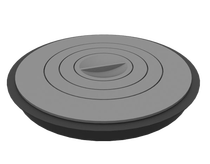 Комплект плиты чугунной для печи-мангала Grillver Искандер