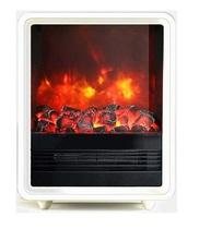 Quaddro белый (REAL FLAME) электрическая печь