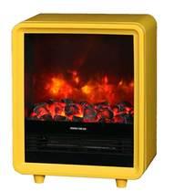 Quaddro желтый (REAL FLAME) электрическая печь