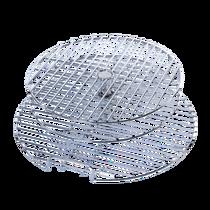 Решетка трехуровневая круглая, разборная для грилей ХL/L Big Green Egg