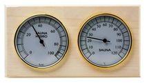 Станция банная биметаллическая СББ, термометр + гигрометр
