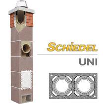 Комплект двухходового дымохода SCHIDEL UNI d140/180, 4 погонных метра