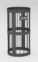 Сетка для камней черная Grill'D L 600 D 300