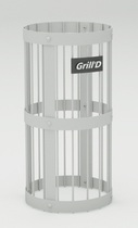 Сетка для камней серая Grill'D L 600 D 300