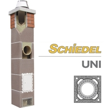 Услуга: расчет стоимости комплекта дымохода SCHIDEL UNI