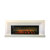 Каминокомплект Сильвер FS50 белый 1770х745х320 (Inter Flame)
