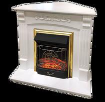 Обрамление угловое Sorrento STD, белый дуб (Royal Flame)