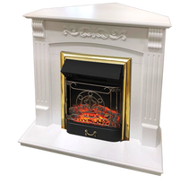 Портал угловой Sorrento STD белый дуб 940х950х660 (Royal Flame)