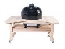 Стол из лиственницы для Primo OVAL 200, (JR) Royal Grills