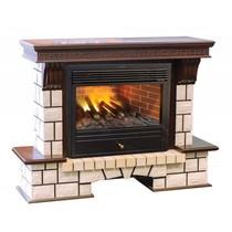 Обрамление Stone New 3D 26/HL античный дуб (Real Flame)