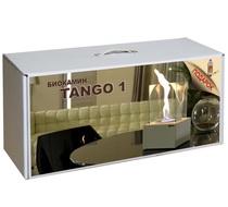 Набор с биокамином Tango 1 белый 200*328*200, биотопливом и зажигалкой (Kratki)