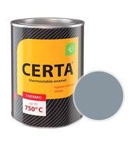 Эмаль термостойкая CERTA (Серебристая) банка 0,8 кг.