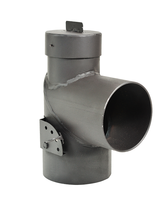 Дымоход отвод с прочисткой FERINGER Ф115