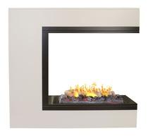 Обрамление VEGAS 3D 630 белый дуб (Real Flame)