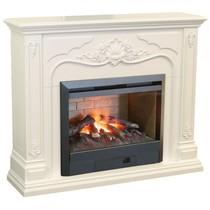 Обрамление VICTORIA 3D 26 белый (Real Flame)