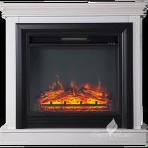 Каминокомплект Вирго F23 белый 900х865х280 (Inter Flame)