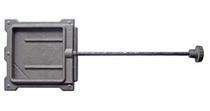 Задвижка печная ЗВ-1А, 130*130